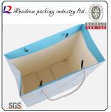 Packpapier-Einkaufen-Geschenk-Beutel-Handfördernder überzogener Kunstdruckpapier-Träger-Druck-Verpackungs-Beutel (a104)