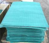 Folha mineral comprimida da gaxeta da fibra