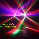 4in1 de Lichte LEIDENE van de LEIDENE RGBW Straal van de Spin Straal die van de Staaf Hoofd LEIDENE van de Straal Spin Lichte RGBW bewegen