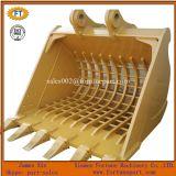 Cubeta de esqueleto padrão da rocha das peças sobresselentes da estrutura da máquina escavadora de Doosan Kobelco