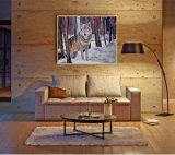 Peinture en gros d'art de qualité, peinture à l'huile de décoration, peinture à la maison de décoration (Y070)