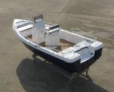 Barco de barcos de pesca da fibra de vidro de China Aqualand 12feet~25feet 3.6m~7.5m/motor da fibra de vidro/barco da velocidade/barco do Panga (aqualand 255 do aqualand 120~)
