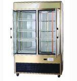 直立した清涼飲料の表示冷却装置飲料のフリーザーの表示ショーケース