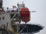 De zee Kraanbalk van het Platform voor Reddingsboot