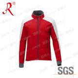 Куртка Softshell ватки полиэфира людей напольная вскользь (QF-4042)