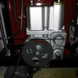Poste d'essence de doubles gicleurs et de quatre étalages