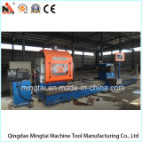 Torno horizontal profesional de China con la función que muele para el rodillo, cilindro, el trabajar a máquina del eje (CG61160)