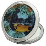 Espelho de alumínio impresso redondo feito sob encomenda da composição para a venda