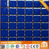 진한 파란색 색깔 사기그릇 모자이크 (C648028)를 거치하는 점