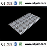 6*200mm中国の製造業者からの1.8kg/M2 PVC壁パネルの天井の装飾