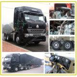 頑丈な10荷車引きのトレーラーヘッド6X4 420HP HOWO A7トラクターのトラック