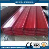 Tipo lamiere sottili d'acciaio preverniciate di colore rosso 9016 del tetto