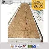 100% wasserdichtes abgeschrägtes Rand-Holz geprägter Oberflächenvinylbodenbelag