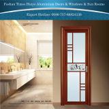 Puertas de oscilación de aluminio del cedazo de la decoración clásica de la barra para el cuarto de baño interior