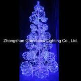 Lumière géante extérieure d'arbre de Noël de LED