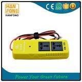 C.C 12V d'inverseur du pouvoir 150W aux ports de remplissage de l'adaptateur USB de véhicule à C.A. 220V/110V