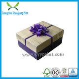 Alta venta al por mayor de encargo del rectángulo de la flor de papel de la impresión de la cantidad
