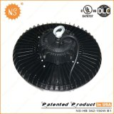UL cUL Dlc IP65 150W UFO LED 가벼운 센서를 가진 높은 만 램프