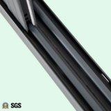 Grauer Farben-Puder-überzogener gerundeter Verschluss-schiebendes Aluminiumfenster K01071