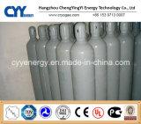 cilindro de alta pressão do aço sem emenda de dióxido de carbono do argônio do nitrogênio do oxigênio 50L