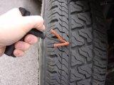 Herramienta rápida del kit de reparación del enchufe de la puntura del neumático del neumático sin tubo del coche de la motocicleta