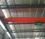 Type de Lda grues de déplacement supplémentaires de faisceau simple entraîné par un moteur électrique pour l'usine de construction préfabriquée de Worskhop de structure métallique