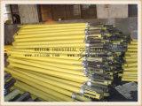 Apoyo ajustable del apuntalamiento del andamio de acero resistente