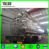 Tri d'essieu de combustible dérivé du pétrole de réservoir remorque semi 45000 litres de réservoir de carburant semi
