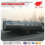 De 3 essieux de lait de camion-citerne remorque semi avec de doubles couches d'isolation