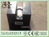 Pesos padrão da calibração do teste da escala do molde do ferro de M1 500kg