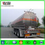 D'alliage d'aluminium de Feul de camion-citerne remorque semi