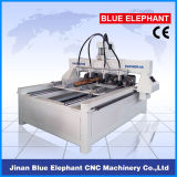 Ele-0809 Multi Spindle 4 Axis CNC Router、Multi Spindle CNC Router Rotary第4 Axis、SaleのためのAutomatic 3D Wood Carving CNC Router