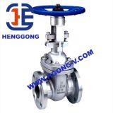 API / ANSI moldeada de acero industrial de aceite de brida Válvula de compuerta