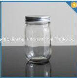 tarro picante transparente de la botella de cristal del almacenaje del alimento 430ml