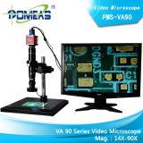 Microscópio video (Pms-Va90) para lascar a deteção