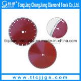 レーザ溶接のダイヤモンドの回状は鋸歯の切断ディスクを
