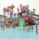 Campo de jogos do parque da água do Oceano-Mundo (WH-004)
