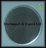Filtro de engranzamento do fio do aço inoxidável, disco do filtro do aço inoxidável