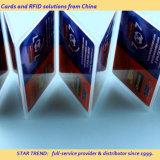 완벽한 인쇄를 가진 신용 카드 크기 플라스틱 선물 카드
