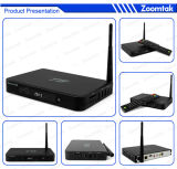 Полное изготовление на заказ Xbmc, Logo и Ui Android TV Box Rooted Android HD Media Box Zoomtak T8 Amlogice S802 Pre-Install Xbmc 13.2 Support