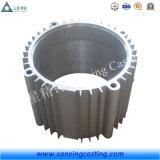 Frame van de Motor van het Grijze Ijzer van het Aluminium van het staal het Gietende met Deklaag