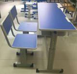 Escritorio y silla de la alta calidad para dos estudiantes