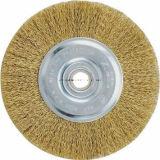Cepillo de alambre de acero circular de la maquinaria 200
