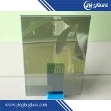 4mmの平らなフランスの緑の反射ガラス