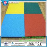 Mattonelle di gomma della stuoia del pavimento di sport resistente al fuoco per ginnastica