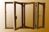Indicador de alumínio e porta dos retratos com vidro dobro