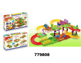 De nieuwe Plastic Bouwstenen van de Baan van het Speelgoed B/O (779807)