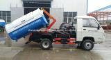 Foton 4X2 rolo do braço de 2 T mini fora do caminhão de lixo 2 de gancho toneladas de caminhão do braço para a venda