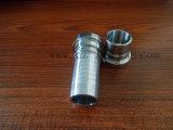 """3/4 """" de bocal da mangueira DIN2999 do aço inoxidável 316 da carcaça"""