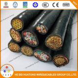 cable de goma de la soldadura eléctrica del aislante 200V